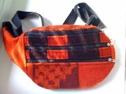 Напоясная сумка из шерсти (Перу)