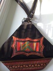 Замшевый рюкзак из Перу