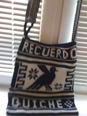 Вязанная сумка из Доминиканы