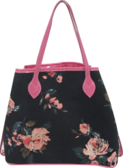 Женская сумка из текстиля Розы