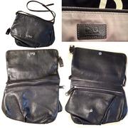 оригинал D&G,  Италия - роскошная НОВАЯ асимметричная сумка-папка