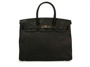 Женская сумка Hermes Birkin (копия) черная